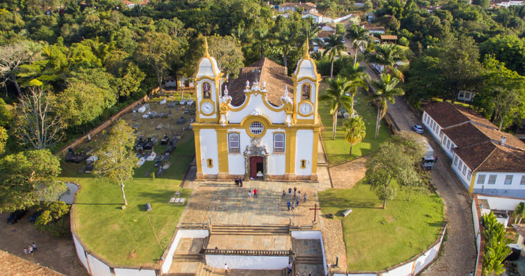 Igreja Matriz de Santo Antônio - Tiradentes MG motivos para visitar Tiradentes